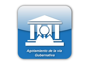 Agotamiento de la vía gubernativa