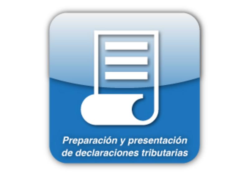 Preparación y presentación de declaraciones tributarias