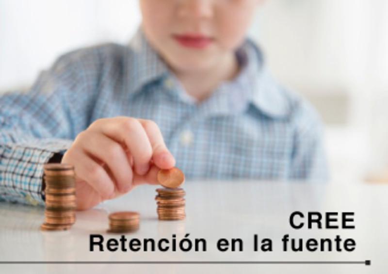 CREE - Retención en la fuente