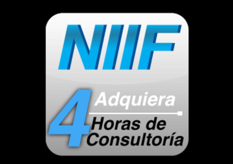 Adquiera Consultoria en Niif 4 horas