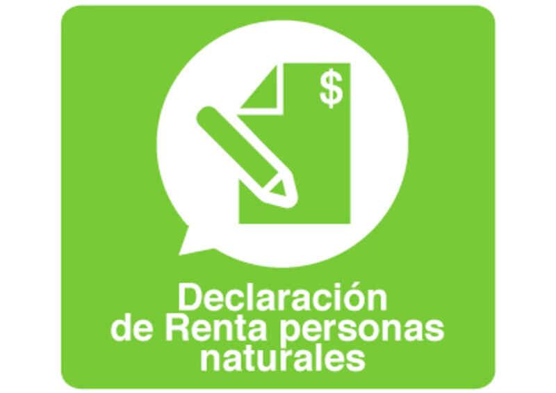 Declaración de Renta 2014 Personas Naturales